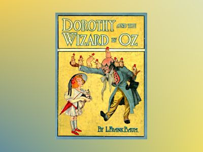 Dorothy and the wizard in Oz av L Frank Baum