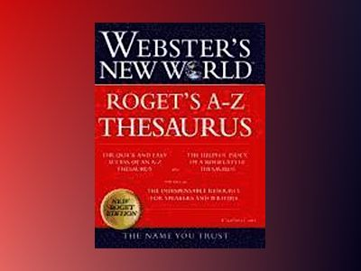 Webster's New WorldTM Roget's A-Z Thesaurus (thumb-indexed) av Charlton Laird
