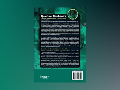 Quantum Mechanics: Concepts and Applications, 2nd Edition av Nouredine Zettili
