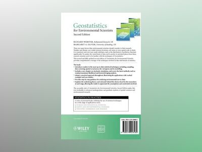 Geostatistics for Environmental Scientists, 2nd Edition av Richard Webster