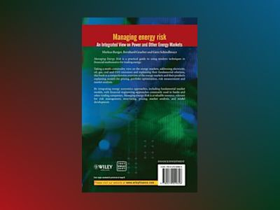Managing Energy Risk: An Integrated View on Power and Other Energy Markets av Markus Burger