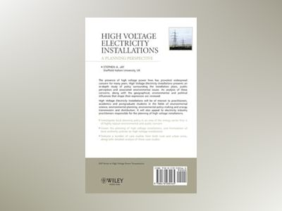 High Voltage Electricity Installations: A Planning Perspective av Stephen Andrew Jay