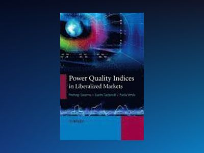 Power Quality Indices in Liberalized Markets av Guido Carpinelli