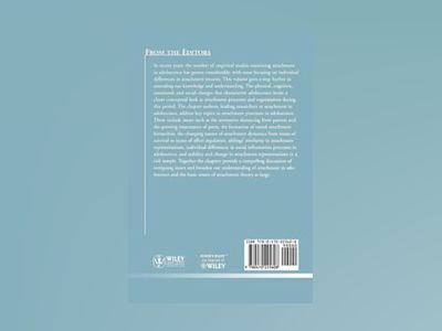 Attachment in Adolescence: Reflections and New Angles: ND for Child and Ado av Child