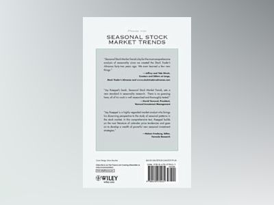 Seasonal Stock Market Trends: The Definitive Guide to Calendar-Based Stock av Jay Kaeppel