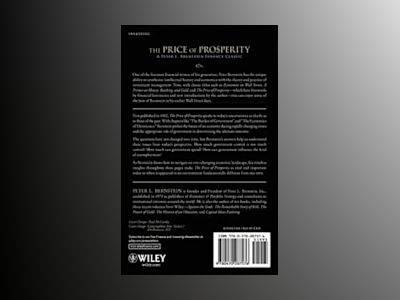 The Price of Prosperity: A Realistic Appraisal of the Future of Our Nationa av Peter L. Bernstein
