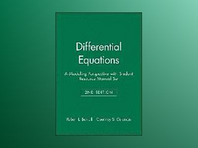Differential Equations: A Modeling Perspective, Textbook and Student Resour av Robert L. Borrelli