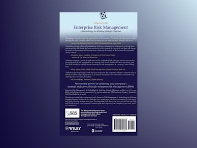 Enterprise Risk Management: A Methodology for Achieving Strategic Objective av Gregory Monahan
