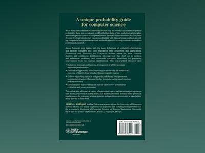 Probability and Statistics for Computer Science av James L. Johnson