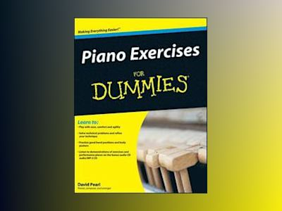 Piano Exercises For Dummies av David Pearl