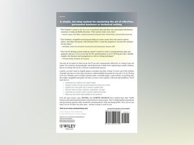 Can Do Writing: The Proven Ten-Step System for Fast and Effective Business av Daniel Graham