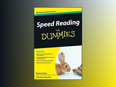 Speed Reading For Dummies? av Richard Sutz