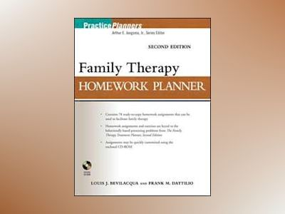 Brief Family Therapy Homework Planner, 2nd Edition av Louis J. Bevilacqua