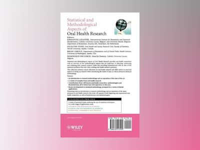 Statistical and Methodological Aspects of Oral Health Research av Emmanuel Lesaffre