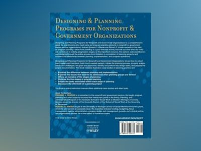Designing and PlanningPrograms for Nonprofit and Government Organizations av Edward J. Pawlak