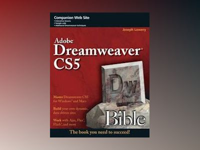 Dreamweaver CS5 Bible av Joseph W. Lowery