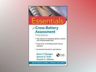 Essentials of Cross-Battery Assessment av Dawn P. Flanagan