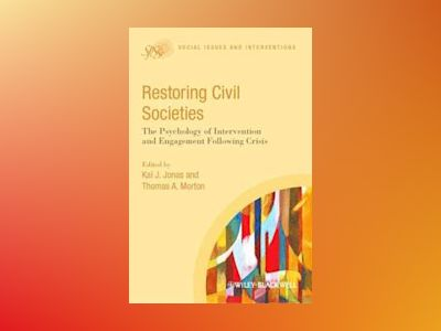 Restoring Civil Societies av T. Morton