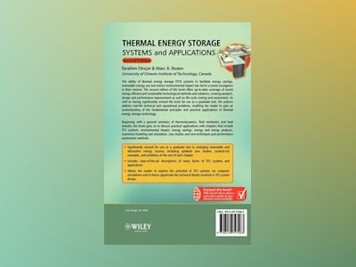 Thermal Energy Storage: Systems and Applications, 2nd Edition av Ibrahim Dincer