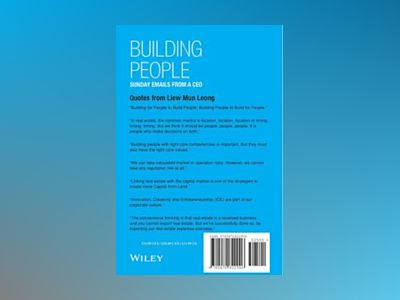 BUILDING PEOPLE : Sunday Emails from a CEO av Mun Leong Liew