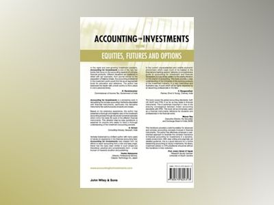 Accounting for Investments: Equities, Futures and Options av R. Venkata Subramani