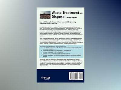 Waste Treatment and Disposal, Second Edition av Paul T. Williams