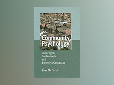 Psychology and Community av Jim Orford