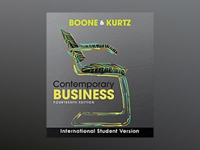 Contemporary Business, International Student Version, 14th Edition av Louis E. Boone