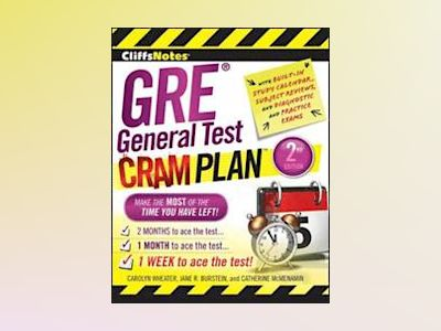 CliffsNotes GRE General Test Cram Plan, 2nd Edition av Carolyn Wheater