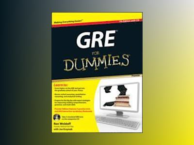 GRE For Dummies, Premier 7th Edition, with CD av Ron Woldoff