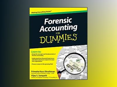 Forensic Accounting For Dummies av Frimette Kass-Shraibman