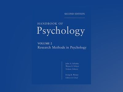 Handbook of Psychology av Irving B. Weiner