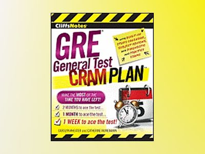 CliffsNotes GRE General Test Cram Plan av Carolyn Wheater