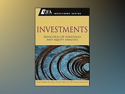 Investments: Principles of Portfolio and Equity Analysis av Michael G. McMillan