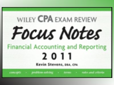 Wiley CPA Examination Review Focus Notes: Financial Accounting and Reportin av Kevin Stevens