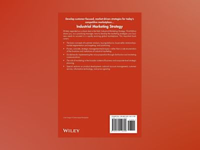 Industrial Marketing Strategy, 3rd Edition av Frederick E. Webster