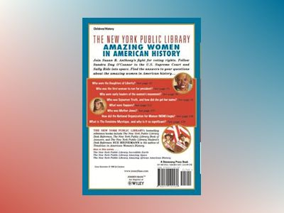The New York Public Library Amazing Women in American History: A Book of An av New York Public Library