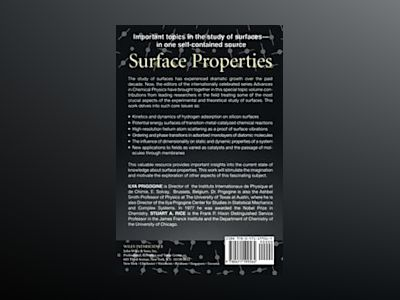 Advances in Chemical Physics, Volume 95, Surface Properties, av I. Prigogine