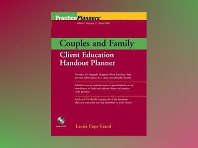Couples and Family Client Education Handout Planner av Laurie Cope Grand
