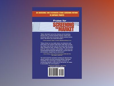 Screening the Market: A Four-Step Method to Find, Analyze, Buy and Sell Sto av Marc H. Gerstein