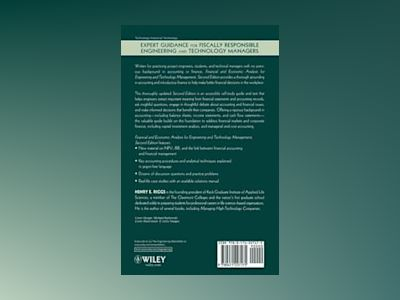 Financial and Economic Analysis for Engineering & Technology Management, 2n av Henry E. Riggs