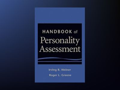 Handbook of Personality Assessment av Irving B. Weiner