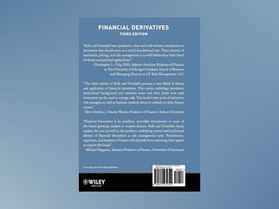 Financial Derivatives, 3rd Edition av Robert W. Kolb