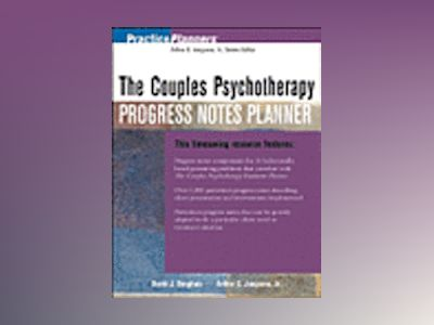 The Couples Psychotherapy Progress Notes Planner av David J. Berghuis