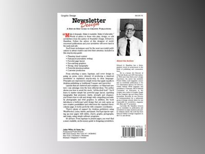 Newsletter Design: A Step-by-Step Guide to Creative Publications av Edward A. Hamilton