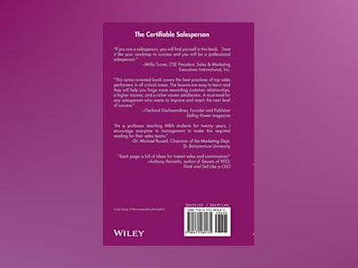 The Certifiable Salesperson : The Ultimate Guide to Help Any Salesperson Go av Tom Hopkins