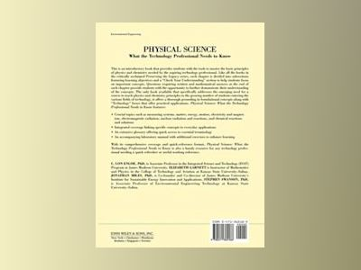 Physical Science: What the Technology Professional Needs to Know av C. Lon Enloe