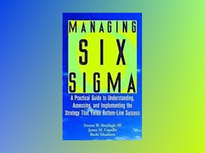 Managing Six Sigma: A Practical Guide to Understanding, Assessing, and Impl av Forrest W. Breyfogle III