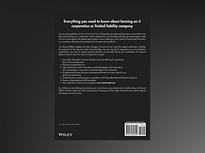 How to Start Your Own 'S' Corporation, 2nd Edition av Robert A. Cooke