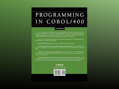 Structured COBOL Programming for the AS400, 2nd Edition av James Cooper